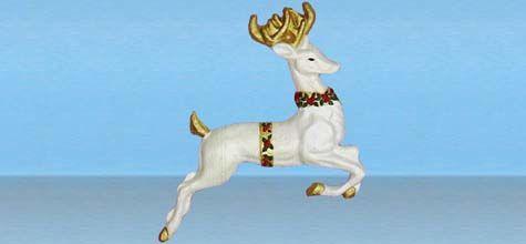 Reindeer Plaque photo