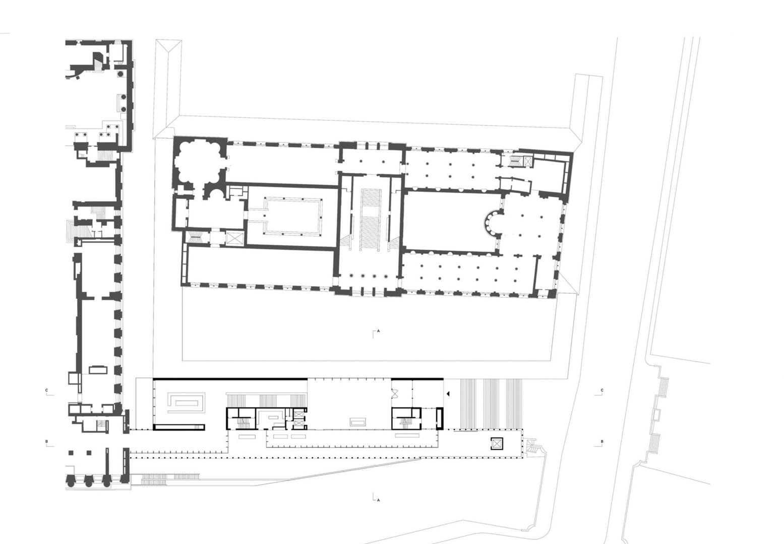 Grundriss Ebene 2 Hauptgeschoss