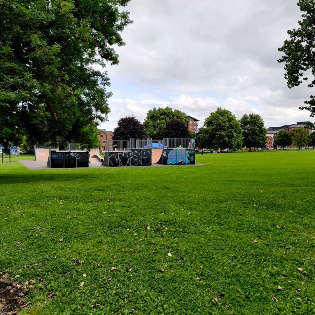 Holbeck Moor Park Skate Park