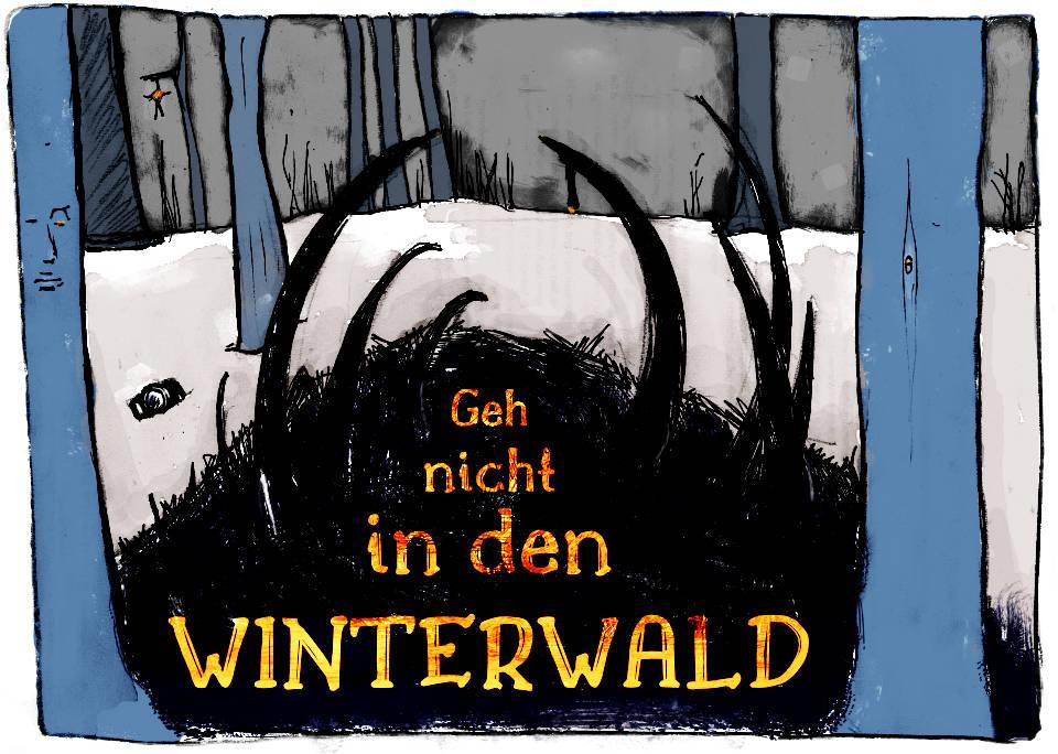 Illustration zum Winterwald-Oneshot