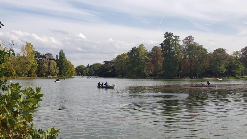 Picturesque Bois de Vincennes
