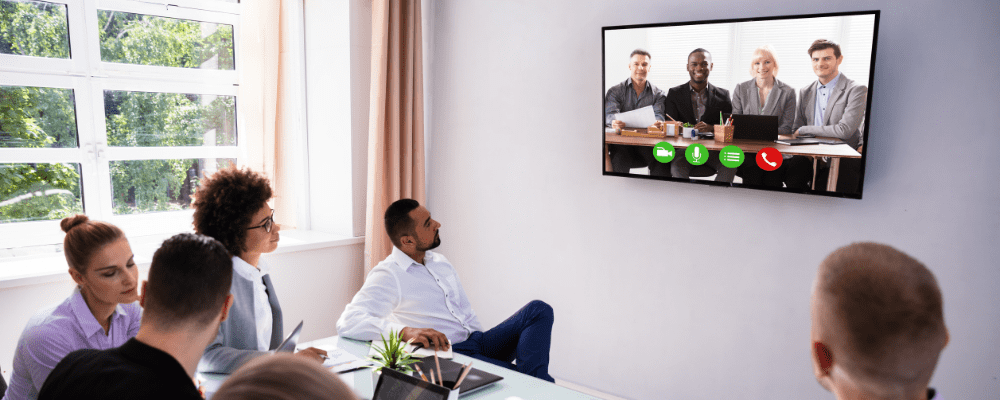 Accruent - Resources - Blog Entries - The Meeting Booking Software Must-Have: Video Conferencing Integrations  - Hero