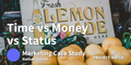 featured image thumbnail for post Time Vs. Money Vs. Status
