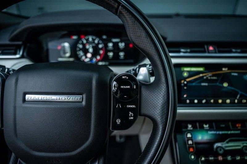 Land Rover Range Rover Velar 3.0 V6 SC AWD R-Dynamic HSE, 380 PK, Head/Up, Black/Optic, Adapt. Cruise, Pano/Dak, Luchtvering!! afbeelding 16
