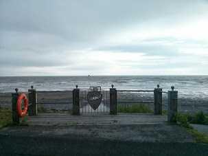 Bleak coast in Seascale