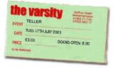 Teller Ticket