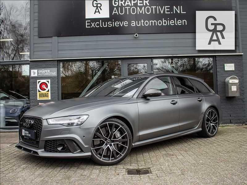 Audi RS6 Avant 4.0 TFSI RS6 PERFORMANCE | KERAMISCH | CARBON | EXCLUSIVE | MILLTEK afbeelding 2