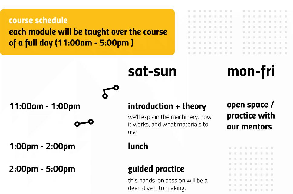 Rapid Prototyping Schedule