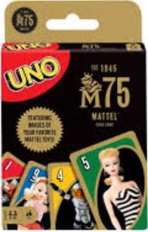 Mattel 75th Anniversary Uno