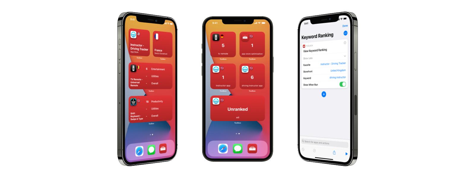 Widget Image on iPhone