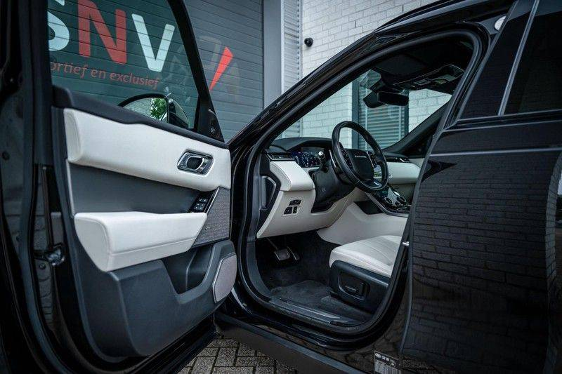 Land Rover Range Rover Velar 3.0 V6 SC AWD R-Dynamic HSE, 380 PK, Head/Up, Black/Optic, Adapt. Cruise, Pano/Dak, Luchtvering!! afbeelding 4