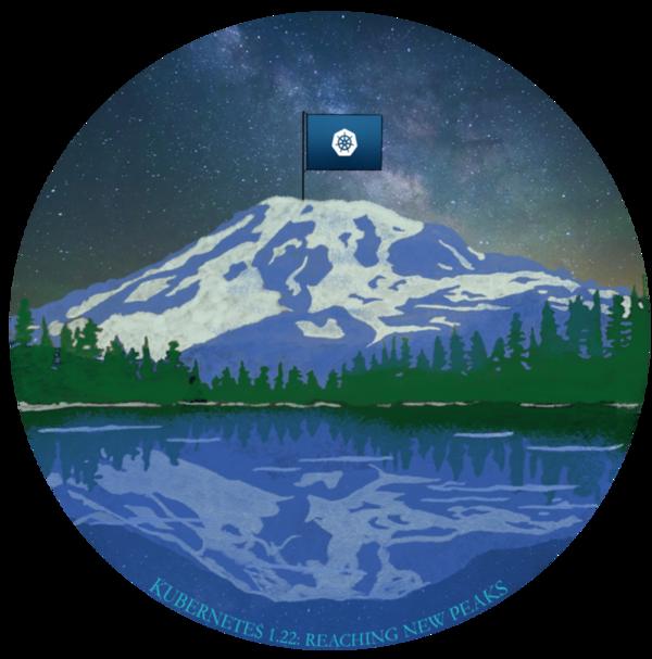 Kubernetes 1.22 Release Logo