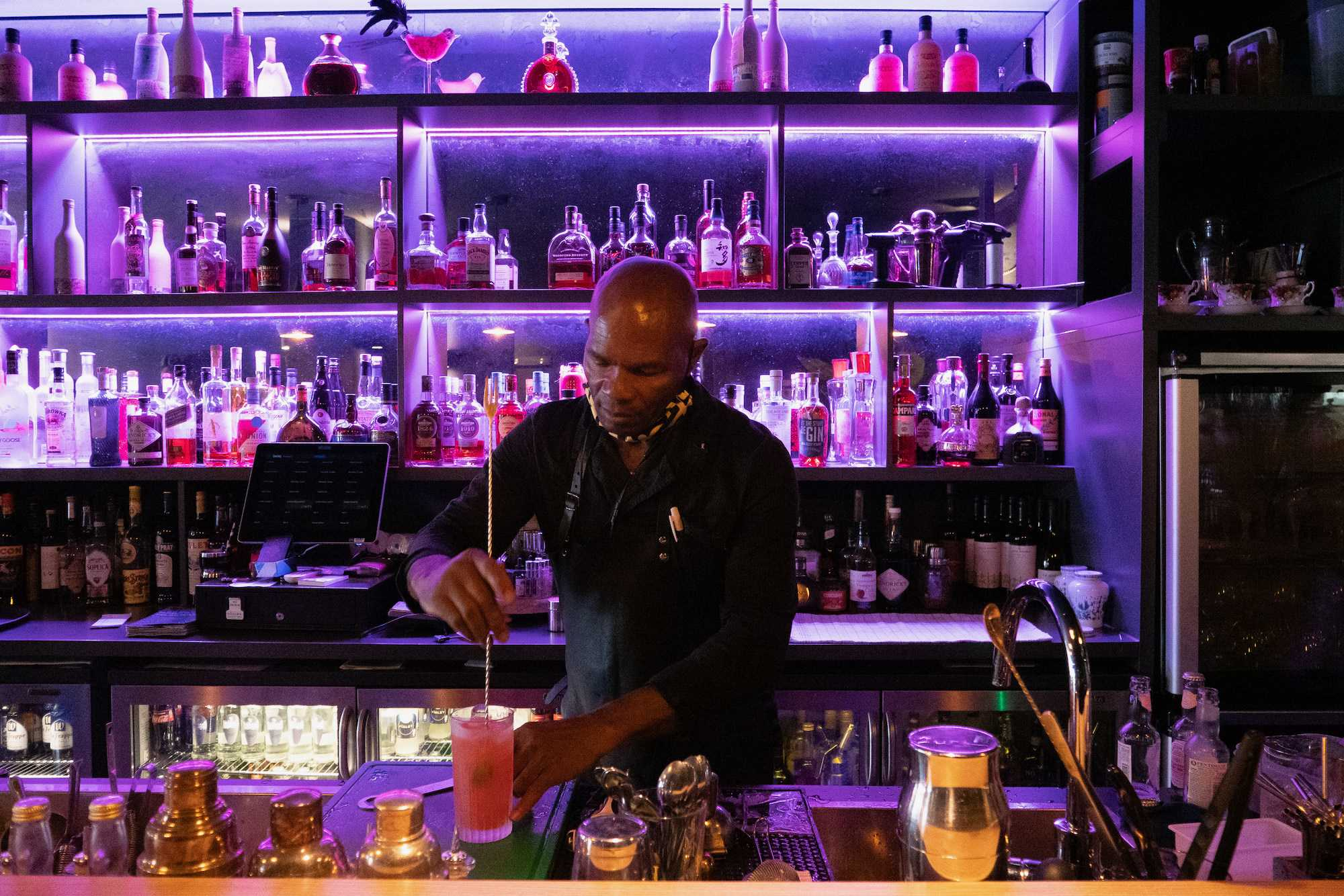 Owner of Amsterdam hot spot, Labyrinth, sees his business as more than just a place for great cocktails, bites, and community events.
