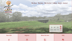 Desktop screenshot of Wondai Country Running Festival