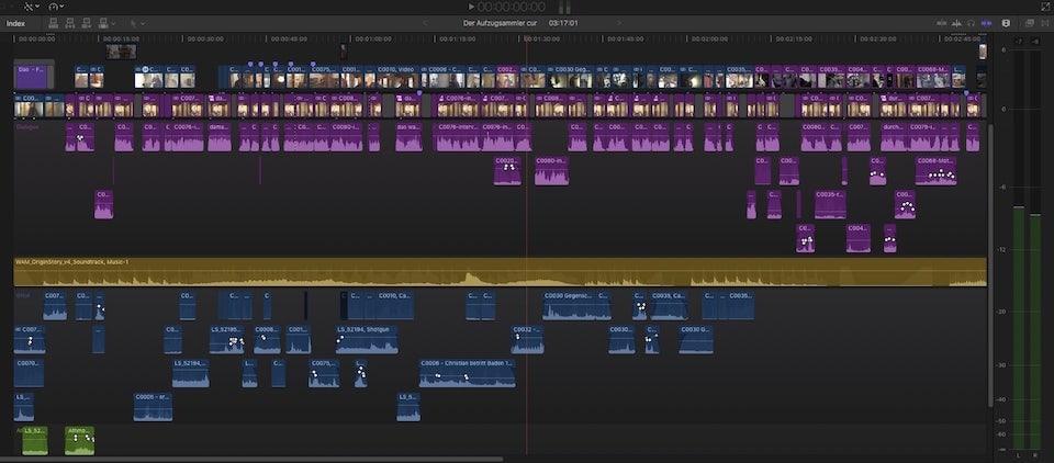 Screenshot Final Cut Pro