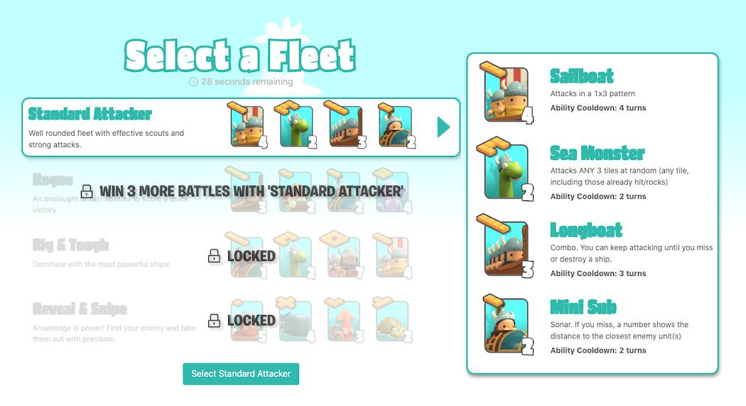 Select a Fleet
