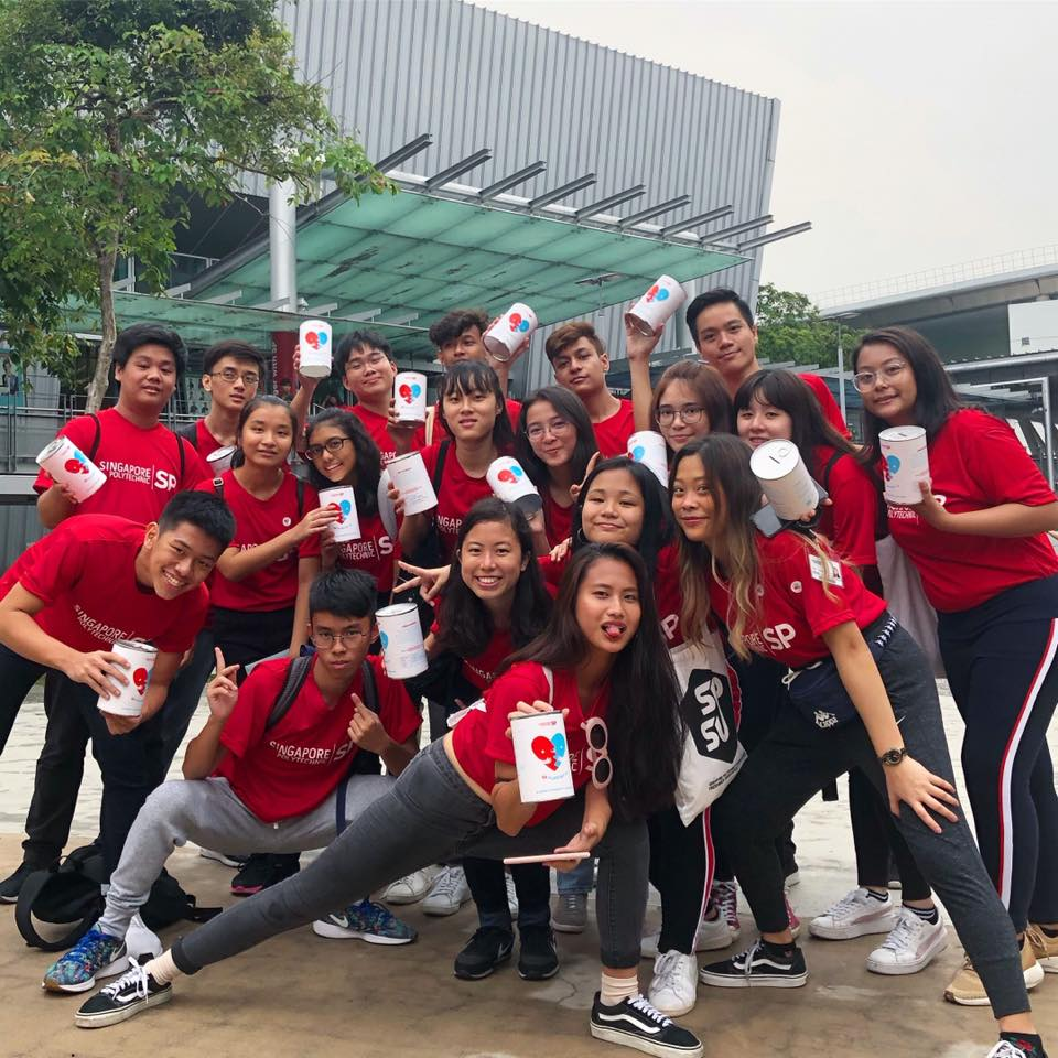 Singapore Polytechnic Flag Day 2019