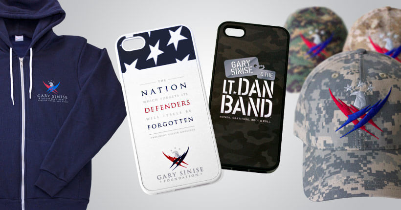 Gary Sinise Foundation merchandise
