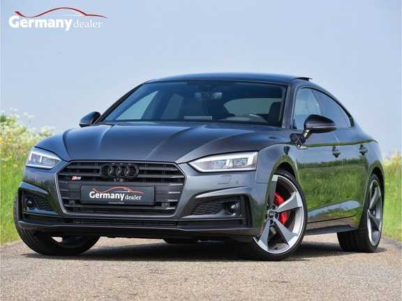 Audi S5 Sportback 3.0TFSI Quattro Black Optic Pano RS-Zetels B&O Head-Up 360Camera Keyless 20-Inch M-LED