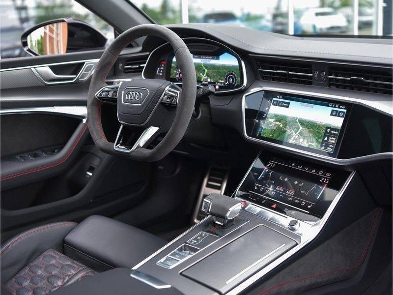 Audi RS7 Sportback 4.0TFSI 600pk Quattro Black Optic Laser-Led Softclose Head-Up Leder-dash RS-Zetels 22-Inch 360Camera afbeelding 20
