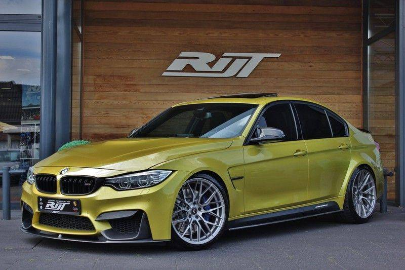 """BMW M3 Competition DCTA 450pk **IPE Uitlaat/20"""" Vorsteiner/HUD/Harm.Kardon/Schuifdak** afbeelding 1"""