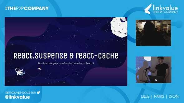 React.Suspense et react-cache, le duo futuriste pour requêter des données en ReactJS
