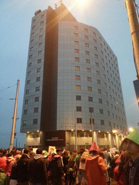 Protest împotriva proiectului minier de la Roşia Montană