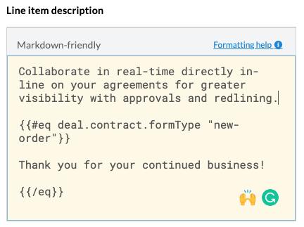Markdown Friendly Inputs support Operators >