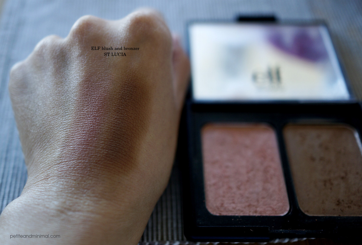 ELF St Lucia Blush and Bronzer Swatch