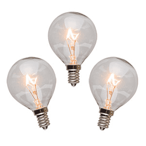 25 Watt Light Bulbs - 3 Pack