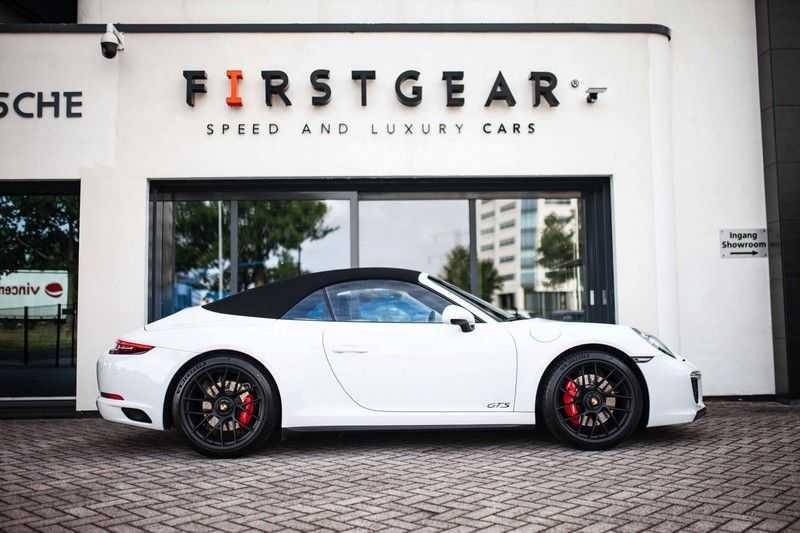 Porsche 911 Cabrio 991.2 3.0 Carrera 4 GTS *BOSE / Liftsysteem / Sport Chrono / DAB / PASM* afbeelding 8