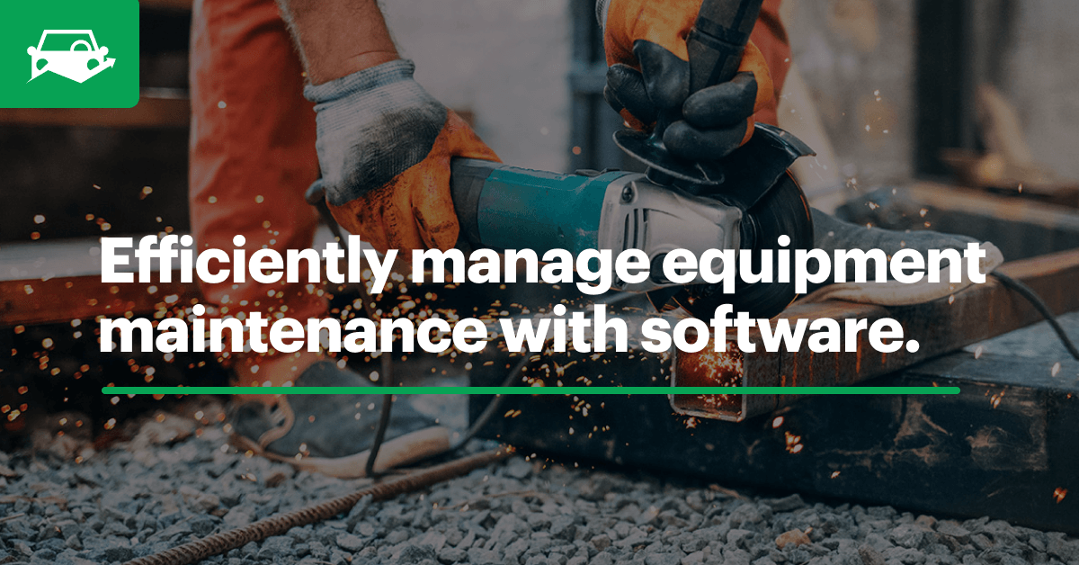 Equipment maintenance blog