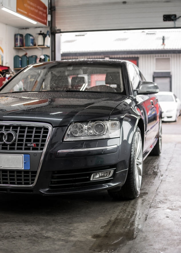 Audi S8 Window Tinting