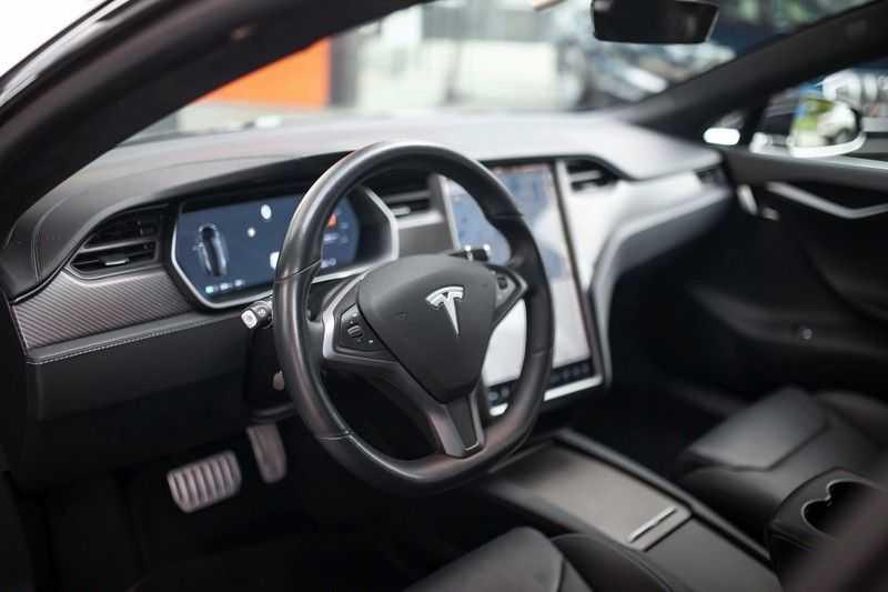 "Tesla Model S 100D Performance *Verb. Autopilot / 21"" LM / Pano* afbeelding 3"