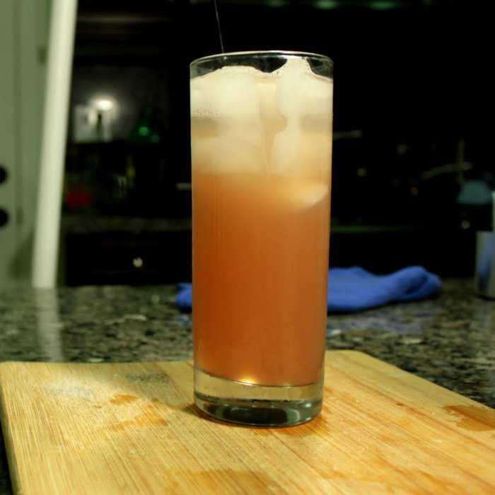 Tequila Fizz Cocktail