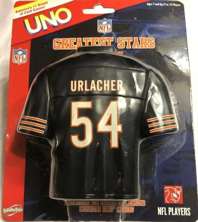 NFL Greatest Stars: Brian Urlacher Uno