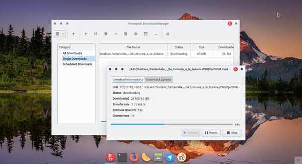 persepolis best download manager for linux