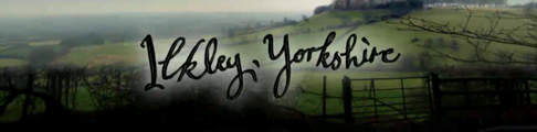 Psychoville onscreen title for Ilkley, Yorkshire