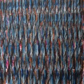 """Adlaheilur Skarpensdottir, Iceland. """"Svörtuloft"""" (two pieces) 2010. Collage, mixed media, 33x41cm"""
