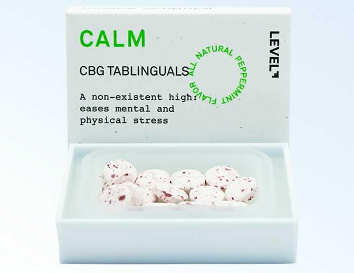 Level Calm Tablinguals