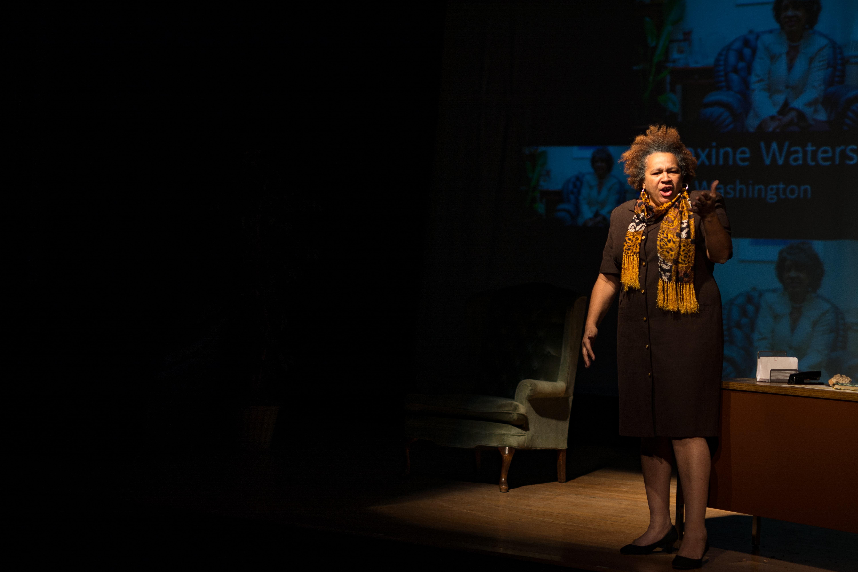 TK as Maxine Waters