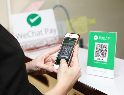 wechat point of sale scanning example
