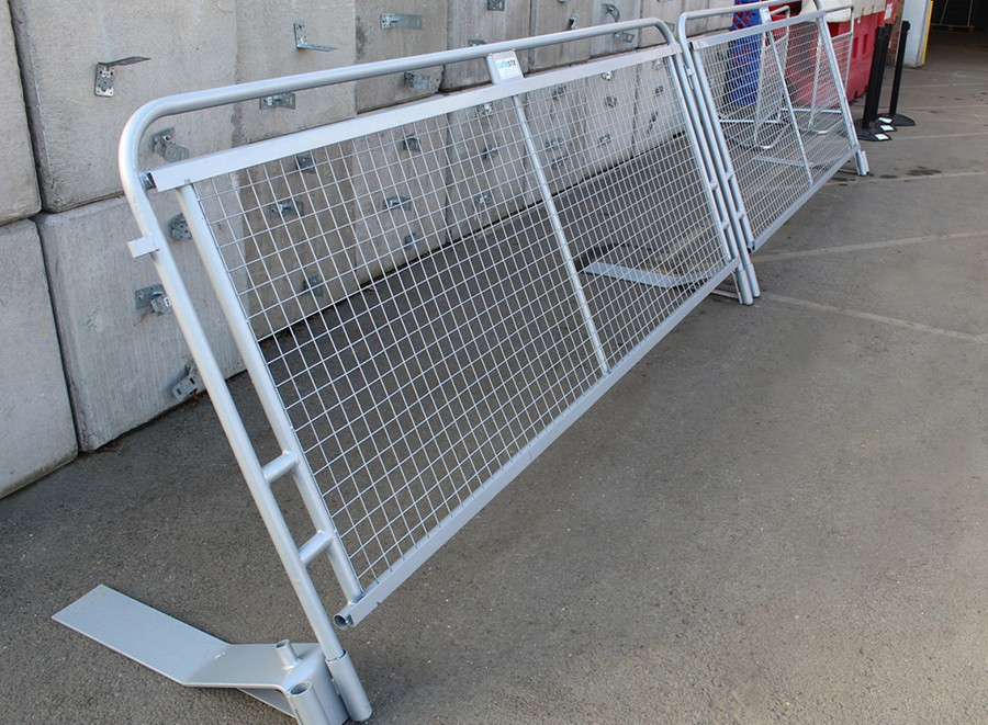 concord pedestrian barrier connected