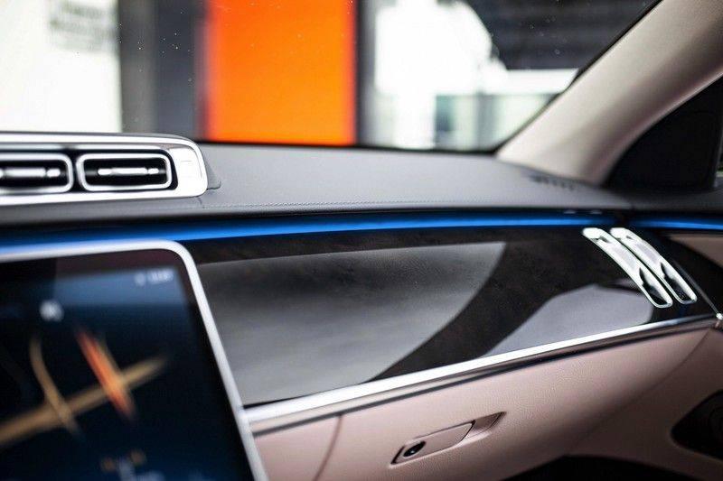 "Mercedes-Benz S-Klasse 500 4Matic Lang AMG NP €193.000 *Pano / 3D Burmester / HUD / Distronic / 21"" / 3D Display* afbeelding 24"