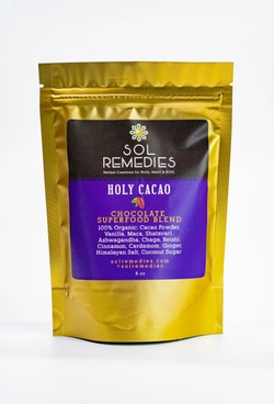 Sol Remedies   Holy Cacao