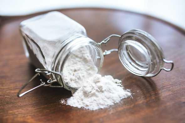 baking soda in potje