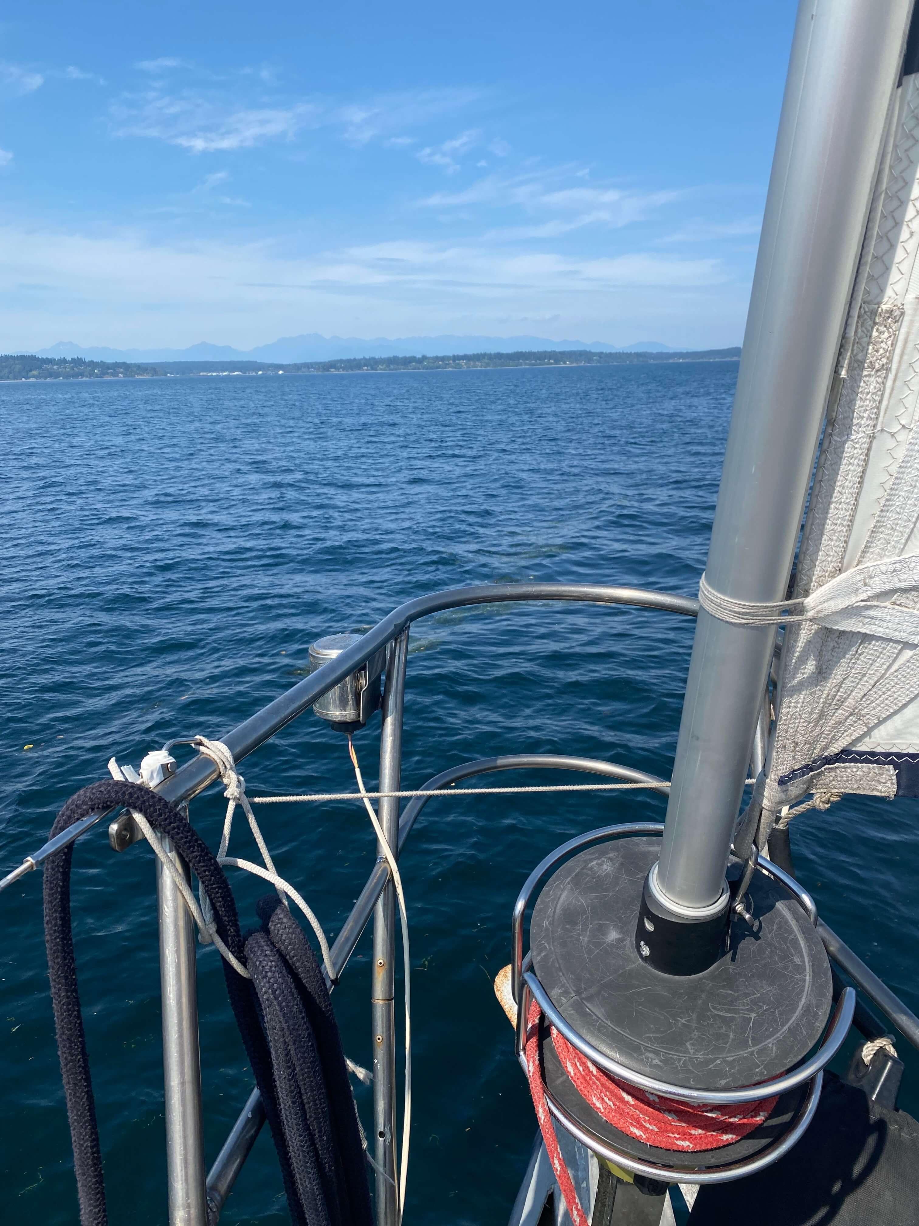 Sailing in northwest waters