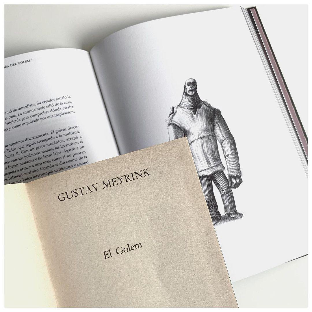 """Imagen de Reseña de """"El Golem"""", de Gustav Meyrink"""