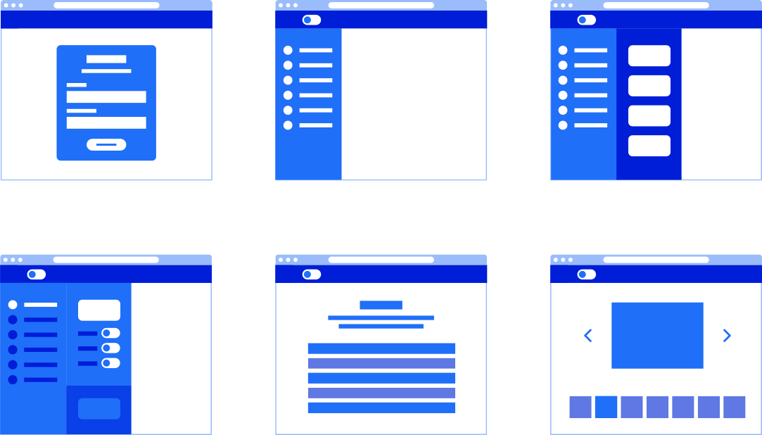 Lackey wireframes