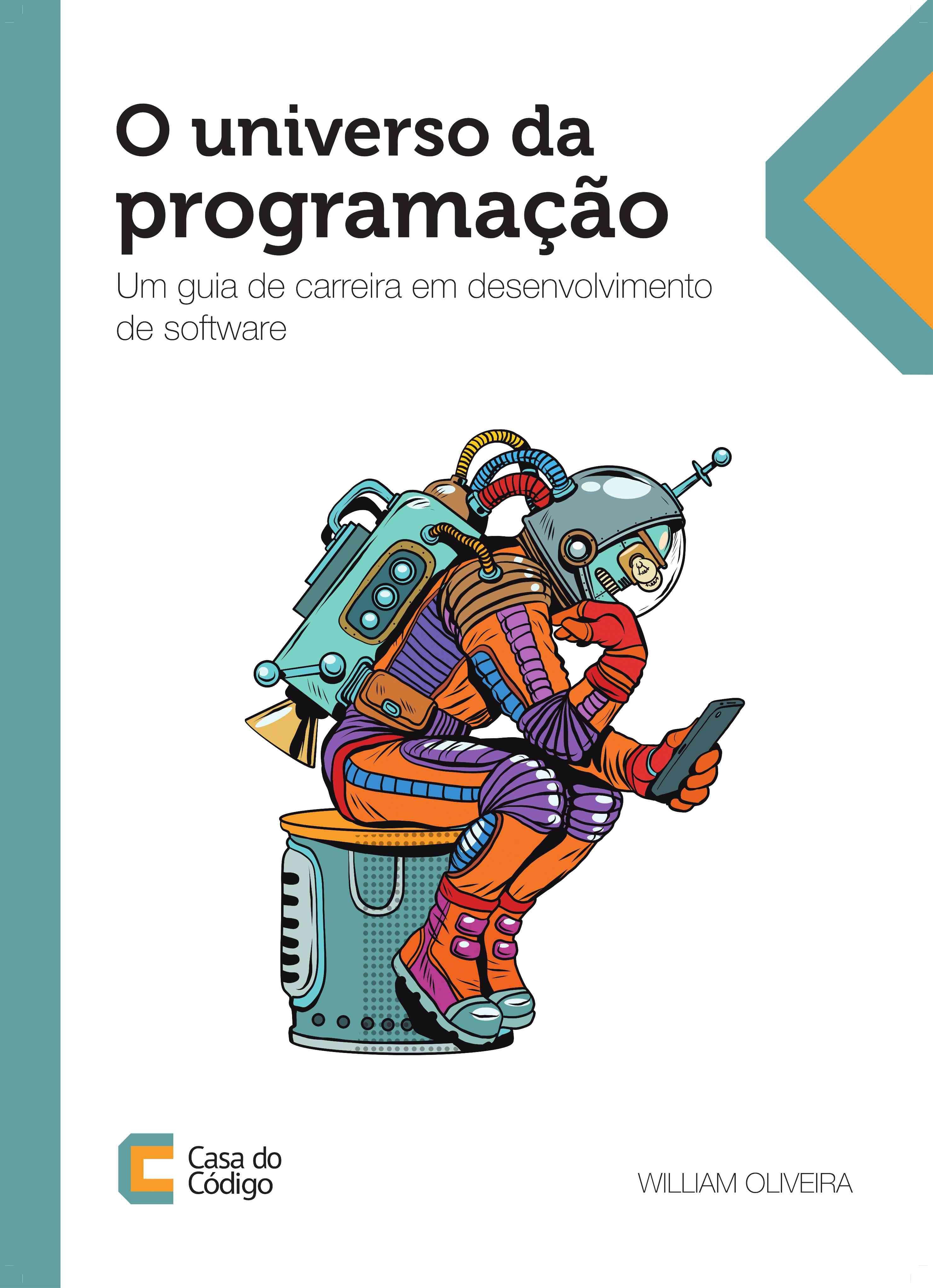 Imagem da capa do livro O universo da programação